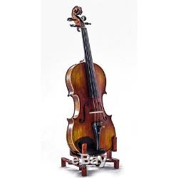 1/2 Antique Style Professional Handmade VN411 Violin Kit w Case Bow Rosin Mute