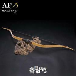 10-50# Horse Archery Handmade Laminated Bow 116cm
