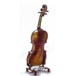 3/4 Antique Style Professional Handmade VN411 Violin Kit w Case Bow Rosin Mute
