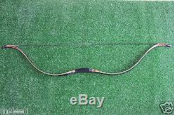 30-60lb Recurve bow High-class Handmade Laminated Long Bow For Archery Hunting