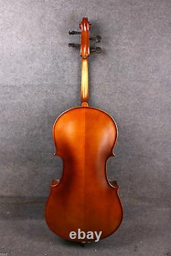 4/4 Cello Maple Spruce cello Ebony Fittings Hand Made With Cello Bag Bow Advance