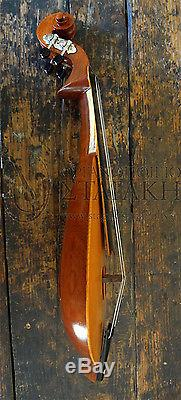 4 string Cretan Lyra from maple and cedar with bow and case handmade