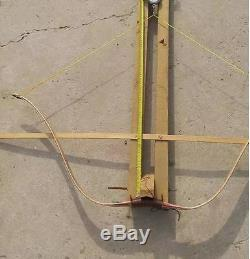 45lbs Archery Recurve Bow Wood Laminated Traditional Handmade Practice Longbow