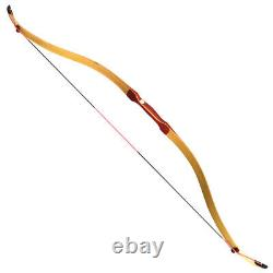 48'' Traditional Archery Recurve Turkish Bow 15-50lbs Handmade Hunting Horse Bow