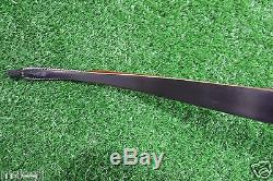 50 LB High-class Handmade Laminated Long Bow Recurve bow For Archery Hunting