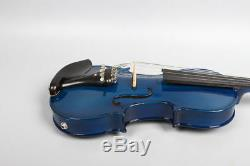 6string 4/4 Electric violin Maple+Spruce handmade Free Case&Bow cable&Rosin