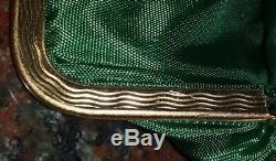 Amazing Antique Repousse 800 Silver frame Silk Paisley Hand Bag & Coin purse Set