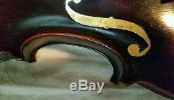 Antique Handmade 1918 JB Howell 4/4 Violin, Karl Hermann bow, & case