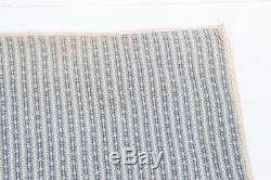 Antique Handmade Hand Sewn Stitched Bowtie Bow Tie Quilt 64x79