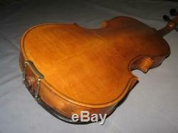 Antique Old 4/4 Full Size Handmade Masterpiece MACHNITZ Violin with Case and Bow