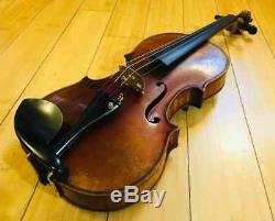 Antique/Vintage Handmade Fullsize 4/4 Violin (European) Bow + Case