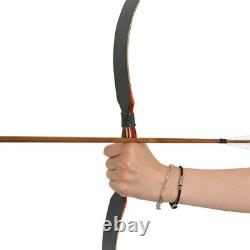Archery Traditional Recurve Bow Longbow Handmade Children Adult Hunting Shooting