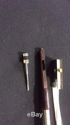 Authentic Bausch Shop - Hand Made German Violin Bow - #2823
