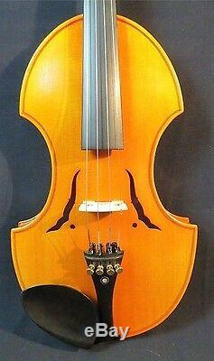 BAROQUE STYLE HAND MADE VIOLIN, LOVELY PIECE, POWERFUL TONE, WITH BOWithCASE