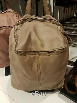Backpack Purses Bag Italian Genuine Leather Hand made in Italy Florence