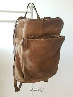 Backpack Purses Bag Italian Genuine Leather Hand made in Italy Florence unisex