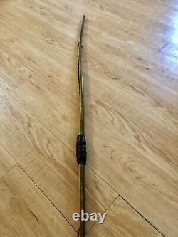 Bamboo & Osage Reflex/Deflex Longbow