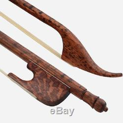 Baroque Cello Bow, Superior Snakewood, Hand Made, Great Balance, Uk Seller