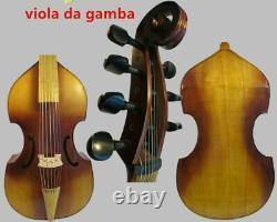 Baroque Style SONG Brand Maestro 7 strings 27 viola da gamba, maple back