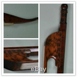 Baroque Style Violin Bow, hand made from Snakewood, 4/4, UK seller