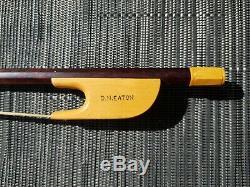 Baroque Violin Bow DOUG EATON Hand Made