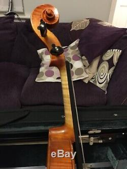 Beautiful Viola 15 Back, Handmade, With Bow And Case