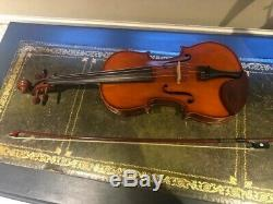 Beautifull Handmade Viola 15'5 Divertimento with case and brazilwood bow