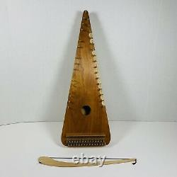 Bowed Psaltery with song books, and soft case Custom hand made in Tennessee