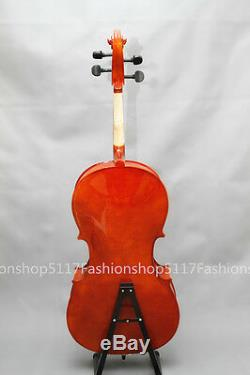 CLASSIC 1/4 SIZE Oil Varnish CELLO HANDMADE QUALITY WITH AND BOW AND ROSIN