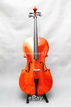 CLASSIC 4/4 SIZE Oil Varnish CELLO HANDMADE QUALITY WITH AND BOW AND ROSIN