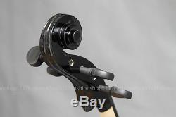 Classic 1/4 Size Black Cello Handmade Quality With And Bow And Rosin