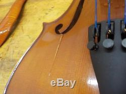 D Z Strad Viola Model 101 Handmade with Case and Bow-16