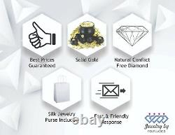 Diamond Freeform Women's Fashion Ring Solid 18K WHITE GOLD 0.11CT Fine Jewelry