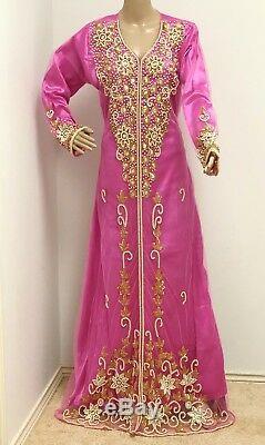 Dubai Kaftan dress for women designer wear prom cocktail wedding caftan gown