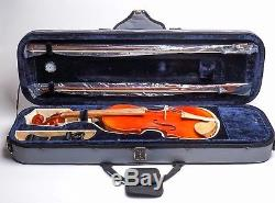 Dz Strad Baroque Style Hand-made 4/4 Violin With Case, 2 Bows And Accessories