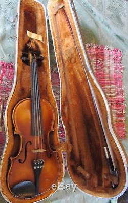 E. R. Pfretzschner 4/4 Violin bow hardshell case 1972 handmade copy of Strat ROTH