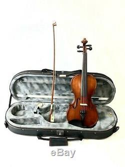 EUN MA Musical Instruments EM Violin W Case & Bow Size1/2 Hand Made