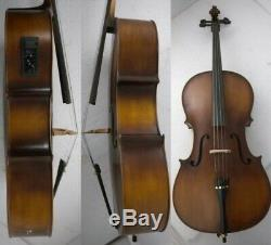 Electric Accoustic Cello Spruce+Maple Hand made Free Bag+Bow+Rosin