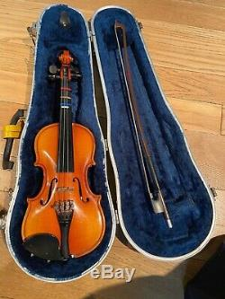 Erich Pfretzschner 1/8 Size Violin 1988 handmade copy withhard case and bow