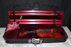 Ernst Heinrich Roth 4/4 Bubenreuth Markneukirchen Handmade Violin, Bow & Case