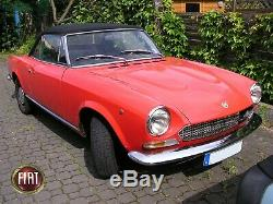 Fiat 124 Spider as BS Hood Hoops Convertible Top Bow 1 3/16in Distance 1966-78