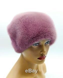Fur Hat Womens Lilly Bow Mink Headdress
