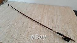 Geigenbogen Geige Violin bow archet Violon Alter Old 4/4 HERBERT WANKA Hand Made