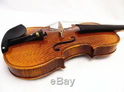 Good quality set 4/4 Hand-Made Antique Violin +Bow +Rosin +Moon Case+ String