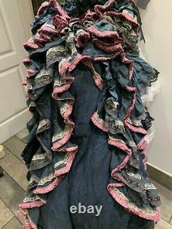 Gothic Wedding dress Steampunk wedding skirt Fairy wedding RitaNoTiara FS