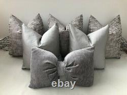 Greige Luxury Cushion Sets Sofa Cushion 18'', 16'' & Bow Including Inserts