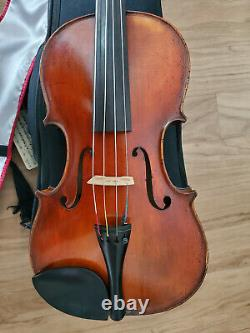Handmade 15 Viola, Schaller with Bow, Case, and Chinrest