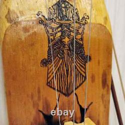Handmade Vikings Tagelharpa, Talharpa, Scandinavian bowed music instruments