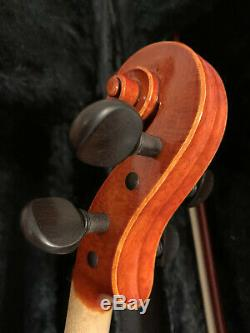 Handmade Violin 4/4 D. Marrone by J. Brown, Bow & Protec Case 6493