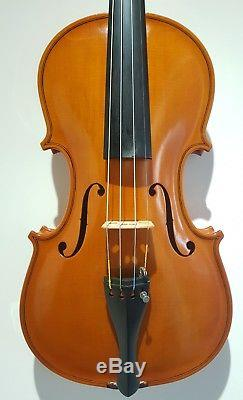 Handmade Violin By A. J. Allen, Including New Case & New Bow